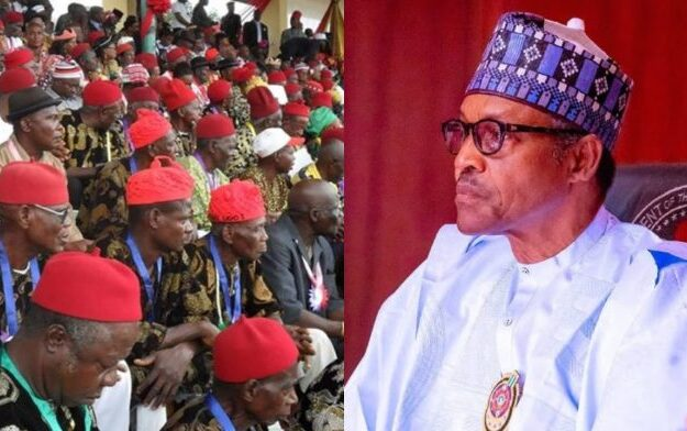 Ohanaeze berates Buhari for being soft on bandits, Boko Haram, but hard on Biafra agitators