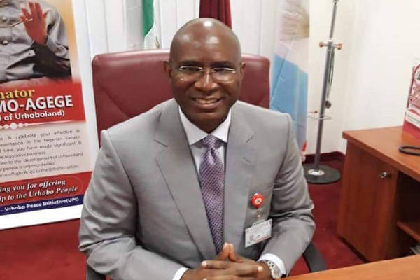 Omo-Agege preaches peace at Easter