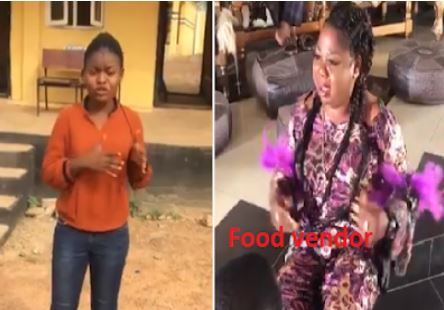 OOU Student Tenders Apologies To Food Vendor She Accused Online Of Cooking With Water From Human Corpse (Video)