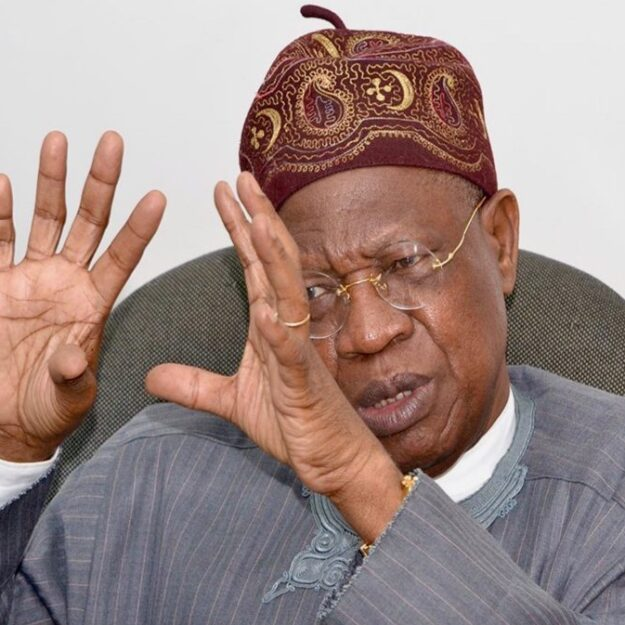 """Our Professors May Work In Togo Bakeries If Nigeria Breaks Up"" — Lai Mohammed Warns"
