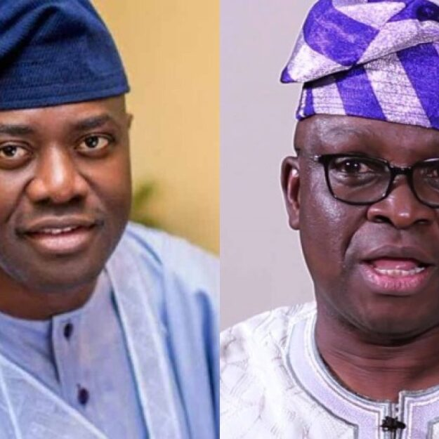 PDP S'West: Fayose concedes party leadership to Makinde