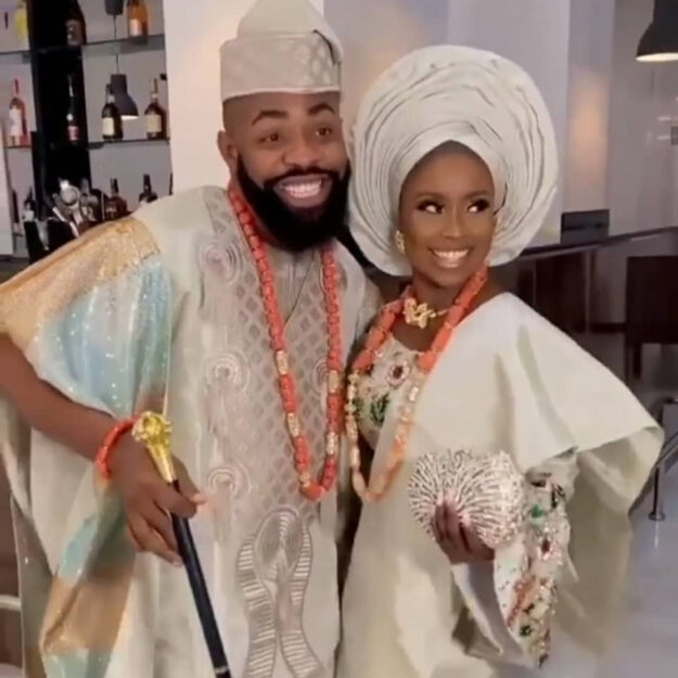 Photos And Videos From Popular Comedian, Arole's Wedding