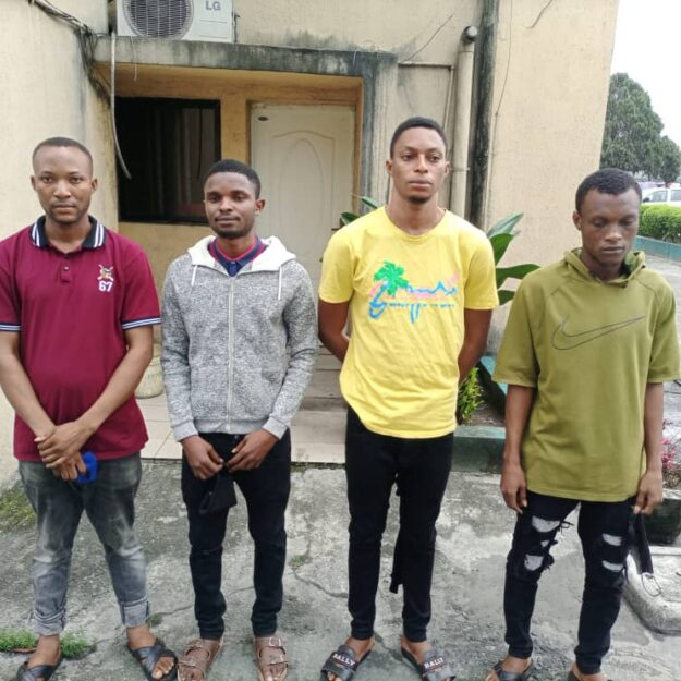 Photos of 11 Internet Fraudsters Sent to Prison In Port Harcourt