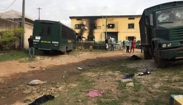 Prison Service Gives Fresh Update On Imo Prison Break, Says 6 Escaped Inmates Returned, 35 Refused To Escape