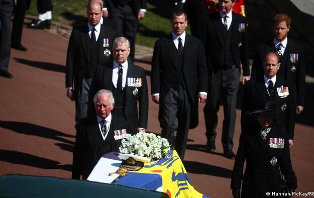 Queen Elizabeth's Husband, Prince Philip Laid To Rest At Windsor Castle (Photos)