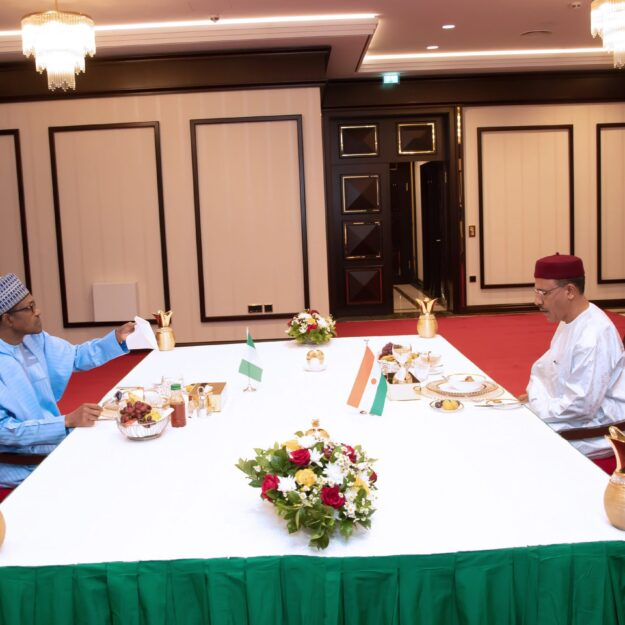 Ramadan blessings: President Buhari hosts Nigerien Leader to 'Iftar'