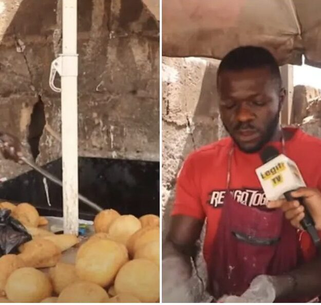 Read Touching Story Of How A Man Left Russia To Become A Puff-Puff Seller In Enugu