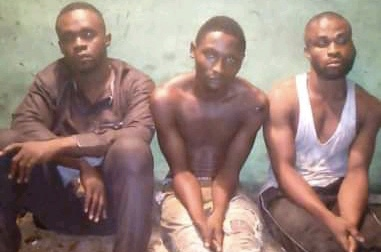 Security Operatives Arrest Three Young Armed Robbers In Port Harcourt