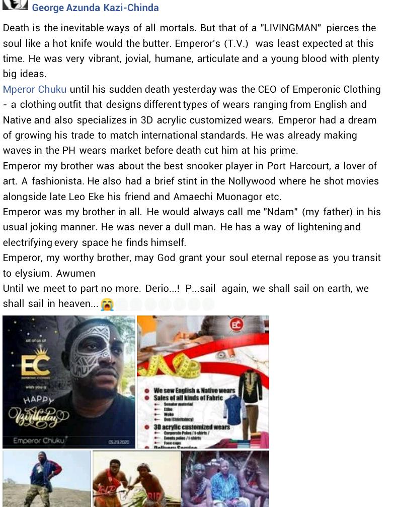 Port Harcourt based businessman