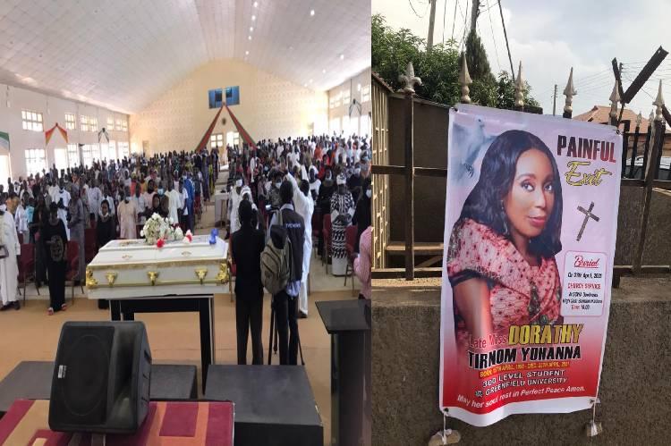 Slain Greenfield University Student, Dorothy Yohanna Buried Amid Tears In Kaduna [Photos] 1