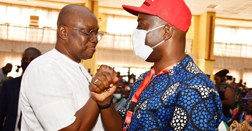 S'West PDP lauds Fayose's group over decision to unite party