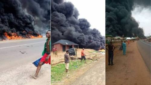 Tanker fire kills 12 persons in Benue
