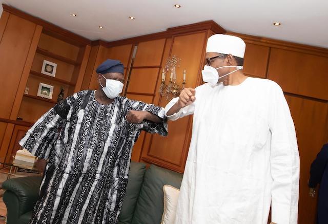 Buhari and Chief Akande