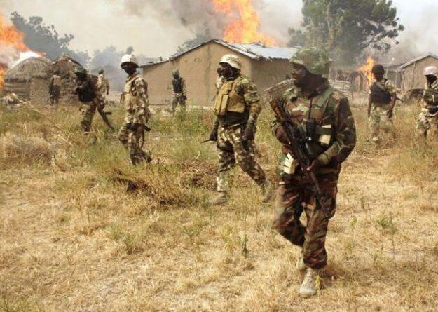 Troops repel terrorists incursion, eliminate scores in Borno