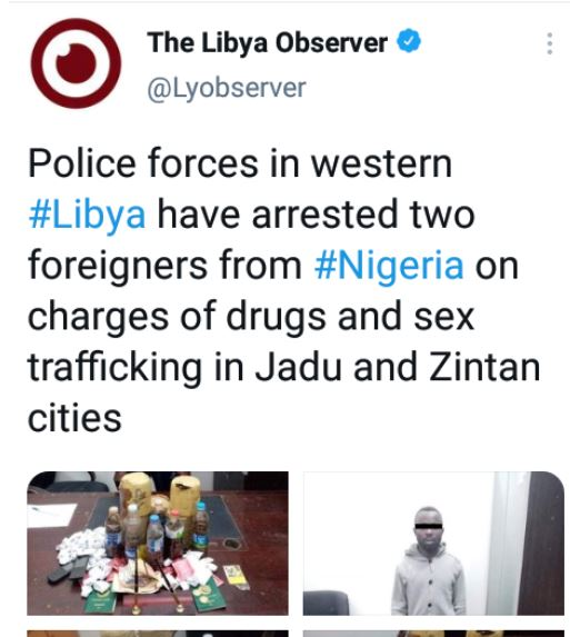 Nigerian drug peddlers