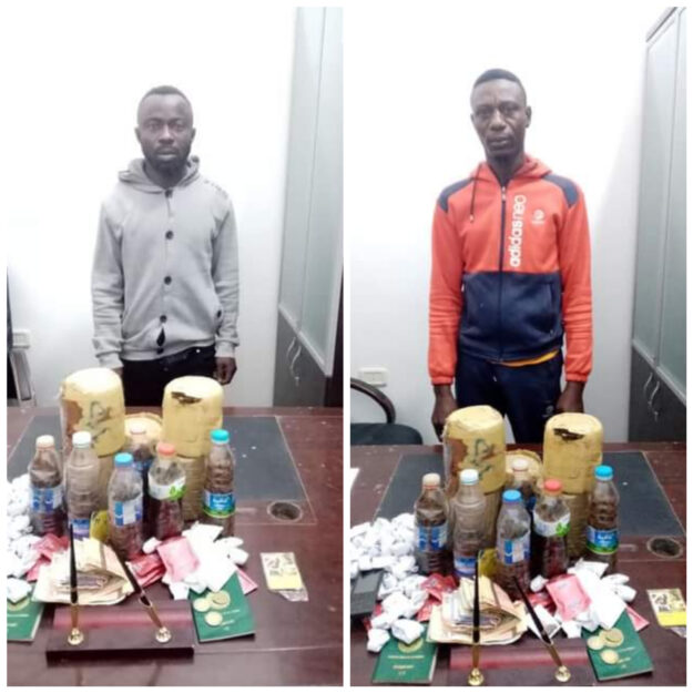 Two Nigerian Nationals Arrested In Libya For Drug And S*x Trafficking (Photo)