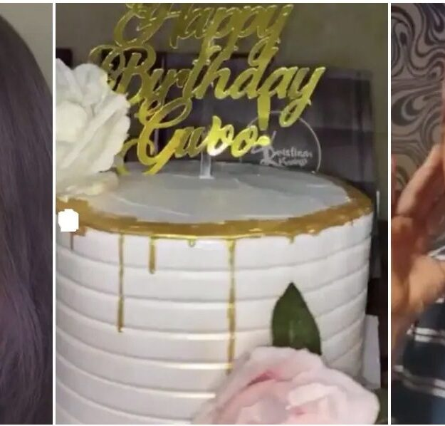 VIDEO: Lady Exposes Her Friend For Stealing Her Birthday Cake And Wine