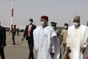 Video: New Niger Republic President Visits Buhari In Abuja