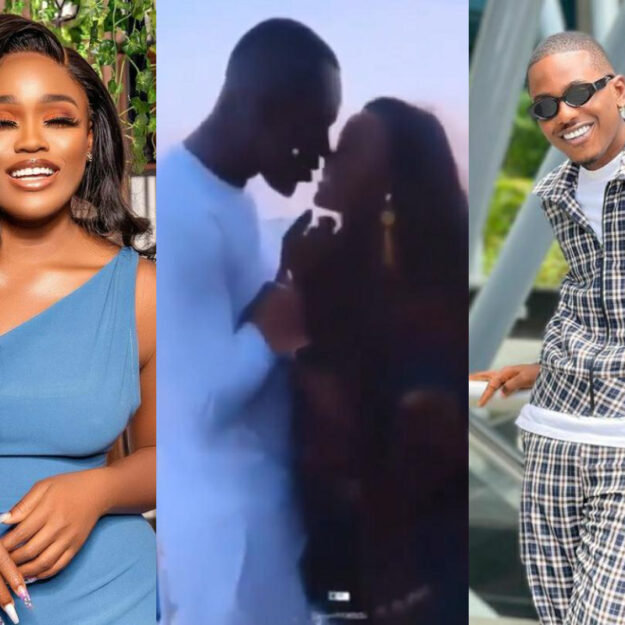 Video of BBNaija's CeeC And Actor Timini Egbuson Kissing Surfaces Online
