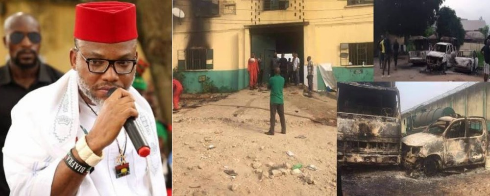 """We Are Not Unknown Gunmen"" - IPOB Denies Attacking Owerri Prison And Police Headquarters 1"