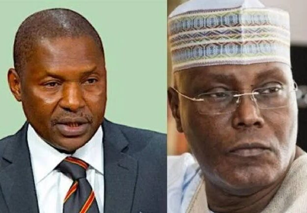 Why Atiku is not qualified to contest for president, Malami tells…