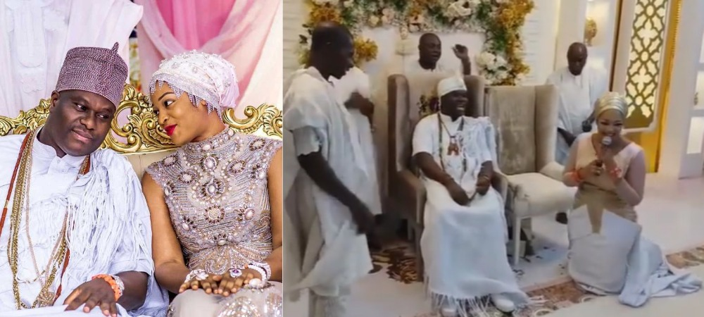 """Your Queens Will Multiply"" - Prophetess Olori Naomi Prays For Her Husband, Ooni Of Ife [Video] 1"