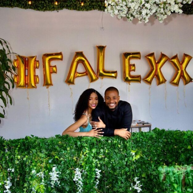 Alex Ekubo and Fiancee Fancy Acholonu Announce Their Wedding Dates!!!!