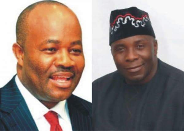 APC in turmoil as Akpabio battles Udoedehe for party leadership in Akwa Ibom