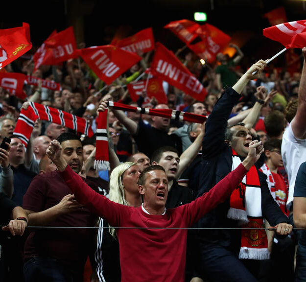 BREAKING: Manchester United fans celebrate as the Red Devils defy all odds to book Europa League final ticket