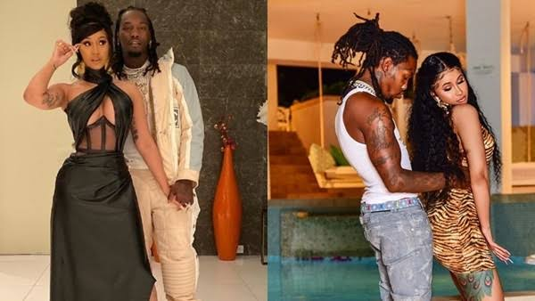 Cardi B Gets Romantic With Husband Offset While Dancing To Davido's Song 'Fall' [Video] 1