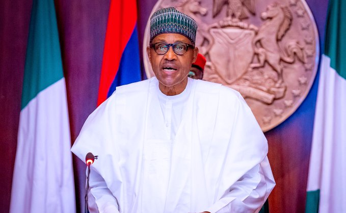Again, Buhari raises alarm over influx of illegal arms, ammunition from Libya
