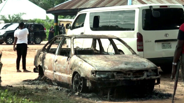 Days after Asaba Declaration, armed men struck in Delta, burn police station, kill 3 officers