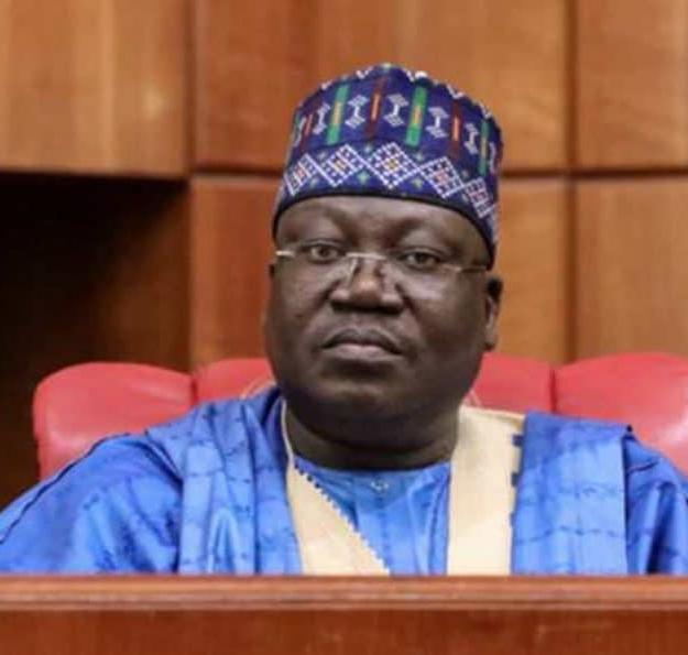 Despite massive killings, rubber stamp senate president hails service chiefs