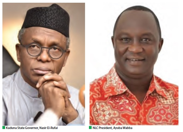 El-Rufai, Labour set for showdown as workers ground Kaduna tomorrow