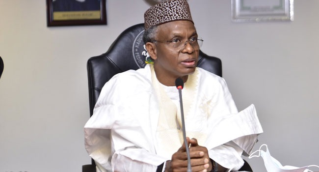 Governor El-Rufai: sends message to freed Greenfield University students