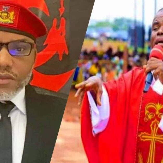 Enugu Bishop Wanted To Detain Me For 30-Days Because Of Nnamdi Kanu — Father Mbaka