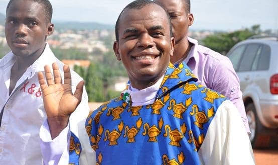 Enugu Residents Jubilates As Father Mbaka Reappears After He Was Declared Missing