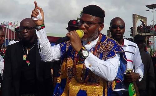 """""""Everybody In Biafra Land Must Observe Sit-At-Home Order On Monday"""" - Nnamdi Kanu 1"""