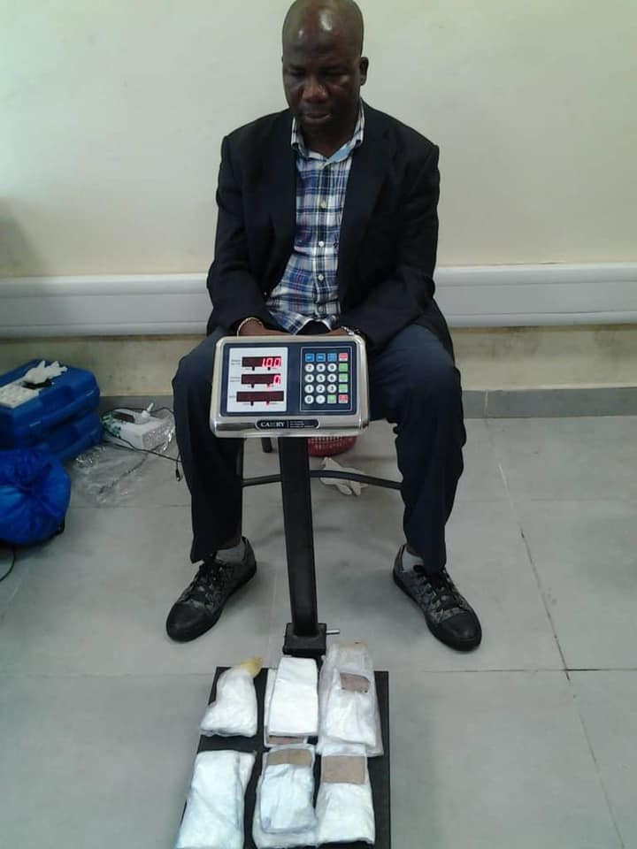 Former LG Vice Chairman Arrested With Cocaine Hidden In Pairs Of Slippers At Lagos Airport 5