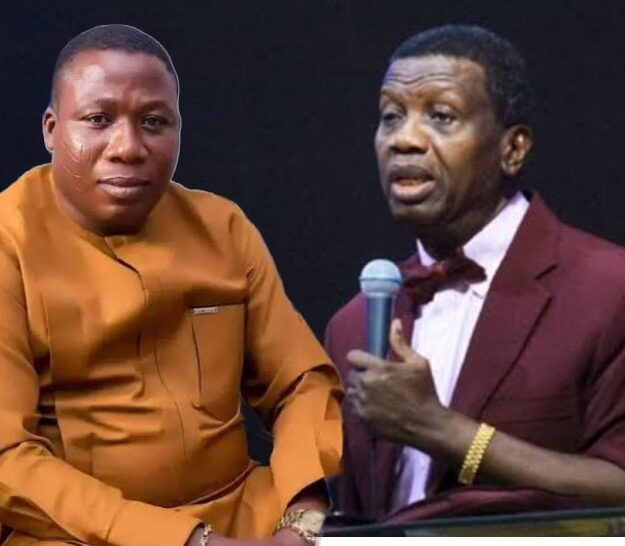 """God Will Kill His Entire Family"" – Sunday Igboho Mocks Pastor Adeboye Over Son's Death [Video]"