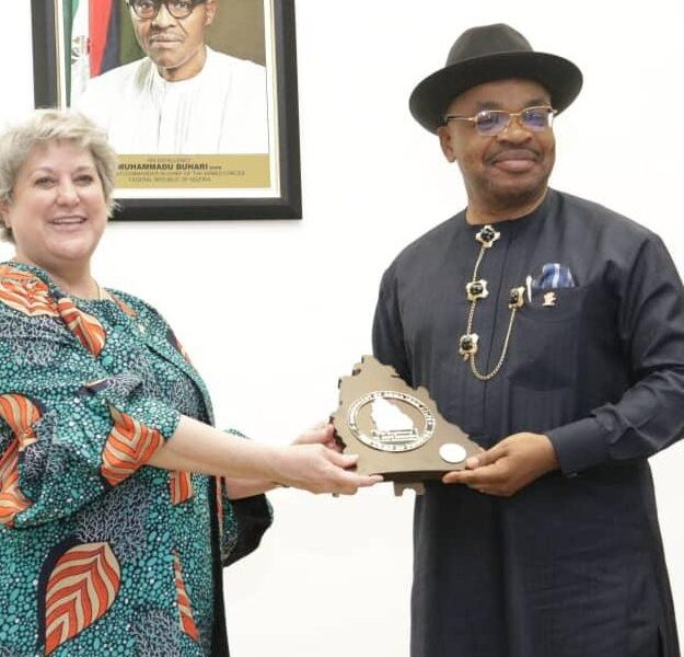 Gov Emmanuel seeks synergy with US on project implementation