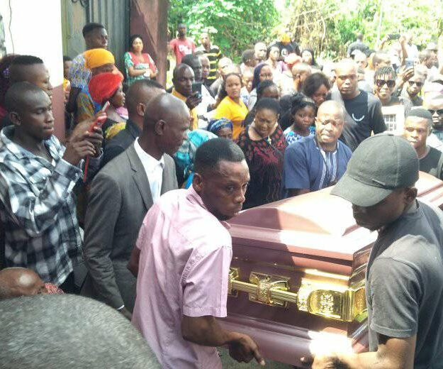 Heartbreaking Photos From The Funeral Of Iniubong Umoren, Who Was Raped And Killed In Akwa Ibom