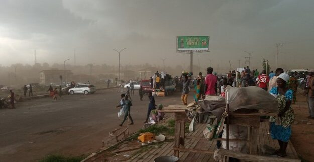 Heavy Rain, Wind, Disperse Agitators Of Yoruba Nation In Osogbo