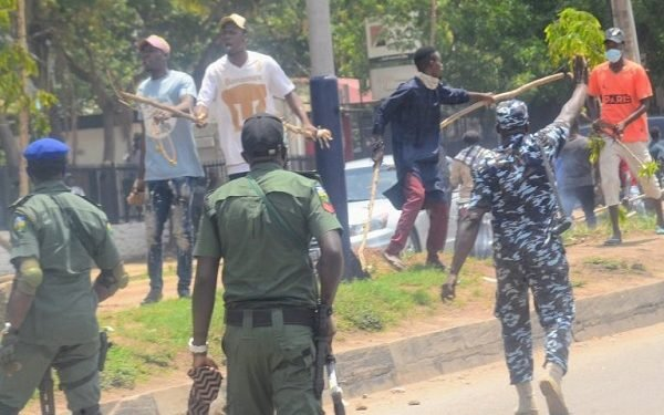 How armed thugs attacked NLC procession in Kaduna