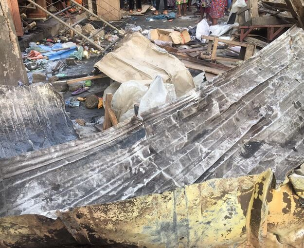 Kairo Market Fire Was Caused By Explosives – LASEMA