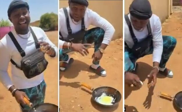 Man Uses Direct Heat From Sunlight To Fry Egg In Sudan [Video]