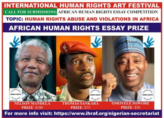Organisers release names of African Human Rights essay competition winners