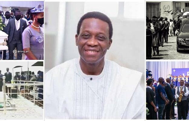 Pastor Adeboye Buries His 42-Year-Old Son, Dare Adeboye Amid Tears [Photos]
