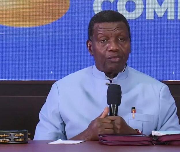 Pastor Adeboye Makes First Public Appearance Hours After Son's Death