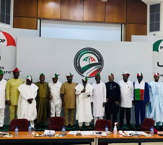 PDP Governors end Ibadan meeting, demand devolution of powers, restructuring